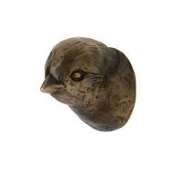 Finch Bronze Cabinet Knob Designed by Ted Boerner