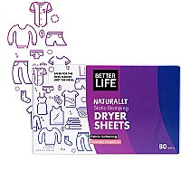 Better Life - Naturally Static-Stomping Dryer Sheets - Lavender Grapefruit