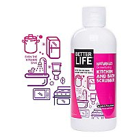 Better Life - Naturally Grime-Busting Kitchen & Bath Scrubber
