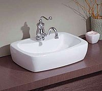 Thema Vitreous China Overcounter or Vessel Sink