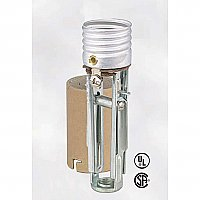 Adjustable Standard Base Socket with Locking Paper Shell Insulator, Leviton Brand