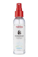 Thayers Alcohol-Free Unscented Witch Hazel Deodorant Spray