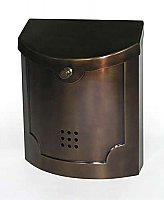 Wall Mailbox, Bronze Finish