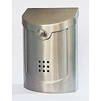Mailbox, Satin Nickel Finish