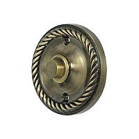Solid Brass Round Rope Door Bell