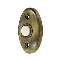 Solid Brass Oval Door Bell