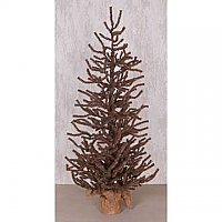 Rustic Brown Pine Tree