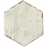 "Retro Hex Blanc 14-1/8"" x 16-1/4"" Porcelain Tile - Sold Per Case of 9 - 11.05  Square Feet"