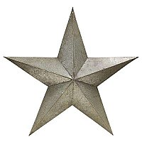 Galvanized Barn Star