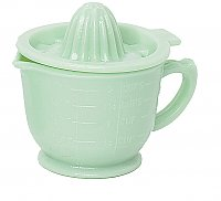 Jadeite Green Juicer or Reamer and Measuring Cup