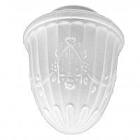Acid Etched Glass Shade