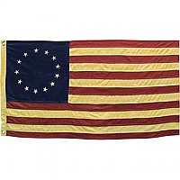 "Betsy Ross American Flag - Small 28"" Wide"
