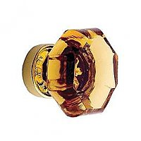 "Amber Old Town Economy Knob, Small - 1"" Diameter"