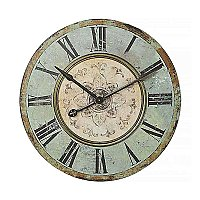 Turn of The Century Round MDF Wall Clock- 29""
