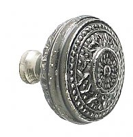 Rice Large Cabinet Knob, Antique Nickel