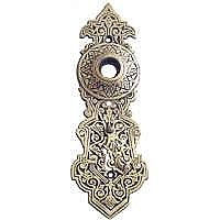 Savannah Doorplate, Antique Brass