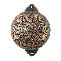 Stella Rotary Doorbell, Antique Copper