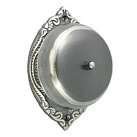 Emerson Rotary Doorbell, Antique Nickel