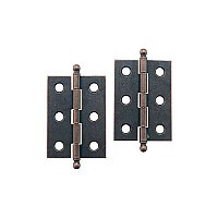 Steel Butt Hinges with Removable Pins, Small