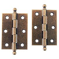 Steel Butt Hinges with Removable Pins, Large