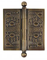 "Windsor Solid Forged Brass Door Hinge 3.5"" x 3.5"""