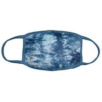 Face Covering or Mask - Blue Tie Dye