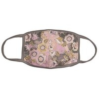 Face Covering or Mask - Pink Paisley