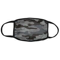 Face Covering or Mask - Gray Camo