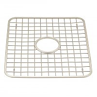 Gia Kitchen Sink Protector Grid - Regular with Hole - Polished Stainless