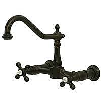 Heritage Wall Mount Kitchen Faucet
