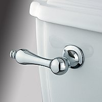 Victorian Toilet Flush Lever - Polished Chrome