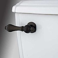 Restoration Toilet Flush Lever - Oil Rubbed Bronze