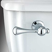 Buckingham Toilet Flush Lever Handle - Polished Chrome