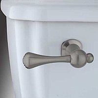Buckingham Toilet Flush Lever Handle - Satin Nickel