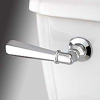 Metropolitan Toilet Flush Lever - Polished Chrome