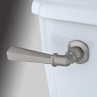 Metropolitan Toilet Flush Lever - Satin Nickel