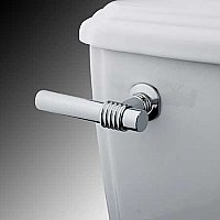 Milano Toilet Flush Lever - Polished Chrome