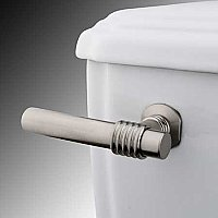 Milano Toilet Flush Lever - Satin Nickel