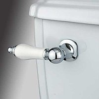 Porcelain Toilet Flush Lever - Polished Chrome
