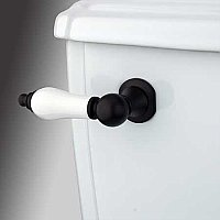 Porcelain Toilet Flush Lever - Oil Rubbed Bronze