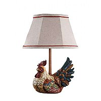 Carlin Accent Rooster Lamp