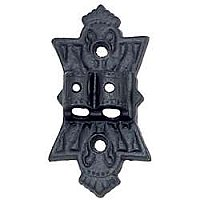 Iron Lamp Double Wall Bracket