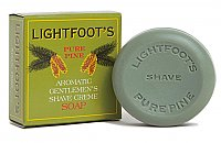 Lightfoot's Pure Pine Shaving Bar Soap