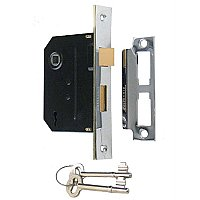 Mortise Door Lock Kit - Multiple Finishes Available
