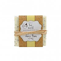 Simply Be Well Handcrafted Bar Soap - Lemon Poppy