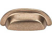 "Aspen Collection 3"" on center - Bin Pull - Light Bronze"
