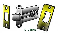 "Tubular Latch - Passage - 1-3/4"" Backset"