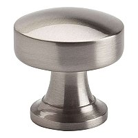 "Browning Round 1-1/4"" Knob-Brushed Nickel"
