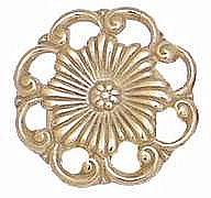 Brass Flower Knob