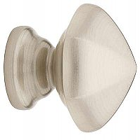 "Hexagon Cabinet Knob - 1-1/8"" - Polished Nickel"